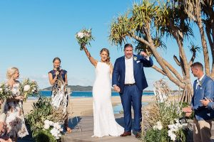 Byron Beach Wedding Ceremony